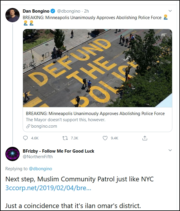 2020-06-26 18_03_39-BFrizby – Follow Me For Good Luck on Twitter_ _@dbongino Next step, Muslim Commu