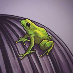 Frog Girl Progress