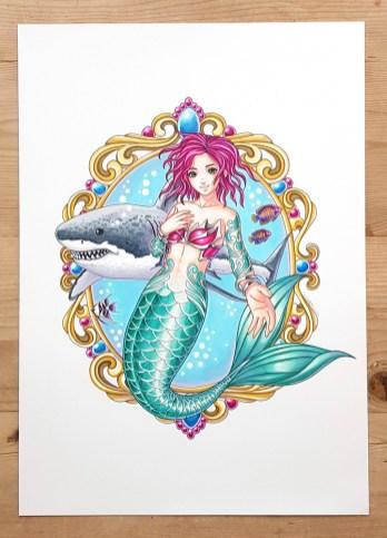 mermaid art 1