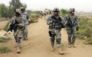 soldaten Irak