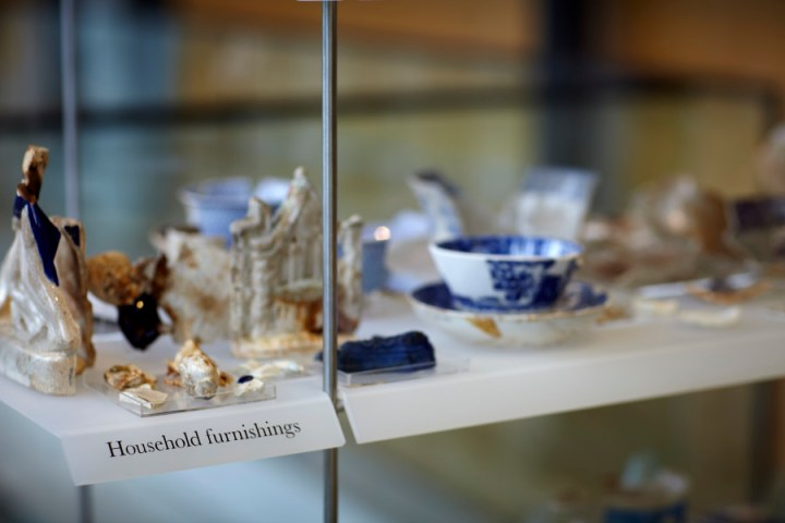 The Casselden Place Showcase display in the foyer of Melbourne Museum.