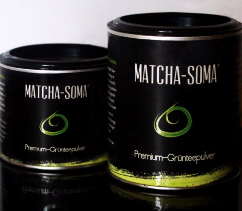 Matcha Tea Corporate and Package Design