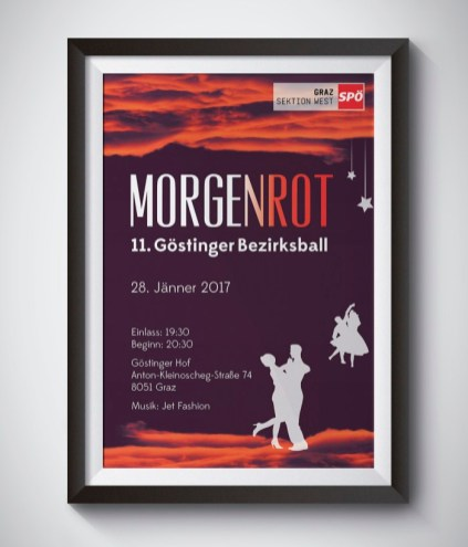 Poster Design for SPÖ Graz