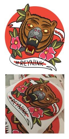 Sttickers for Tattoo Artist Reynink
