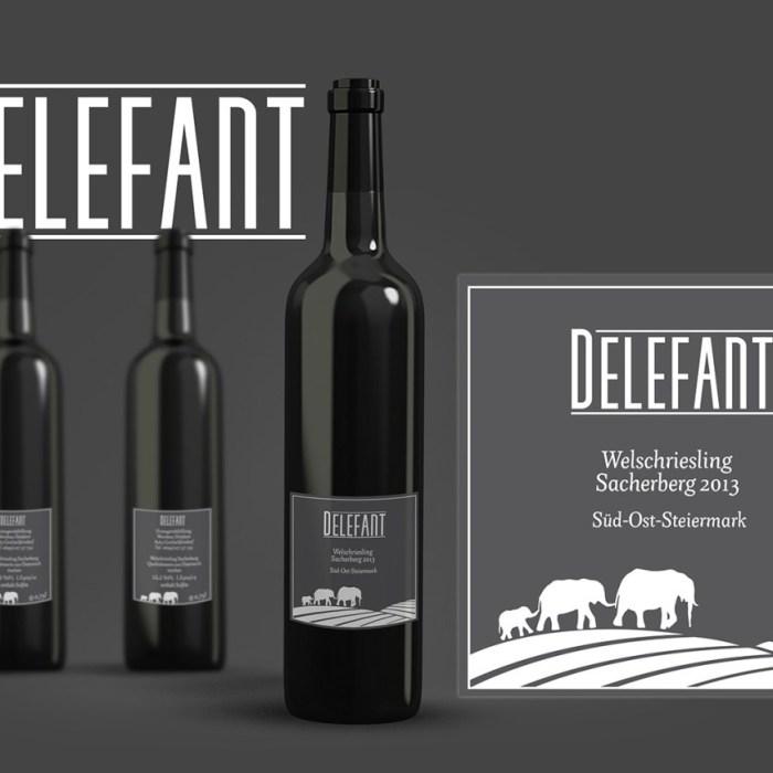 Wine Label Mockup