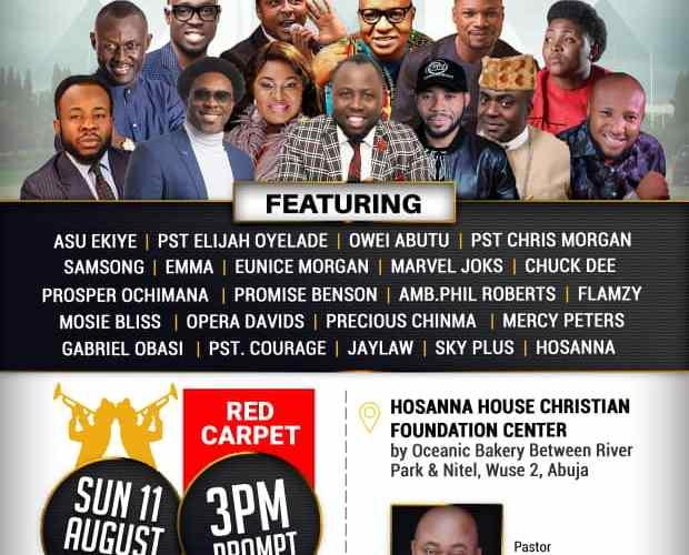 Samsong ,Asu Ekiye, Pst Chris Mogan, Elijah Oyelade, & Many Others to Headline the Maiden Edition of Abuja Mega City Praise Jam