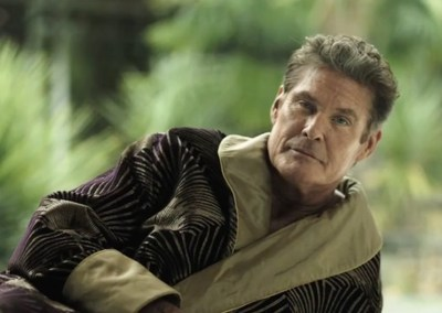 David Hasselhoff Talkshow Commercial