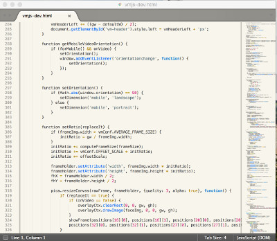 TryOn source code editor