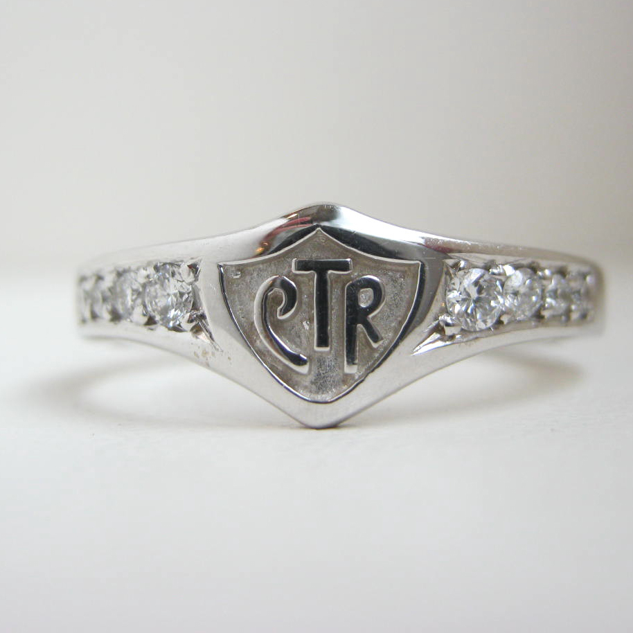 CTR bands are a popular item from Bennion Jewelers