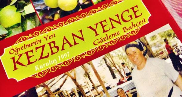 Antalya Kezban Yenge Gözleme Bahçesi