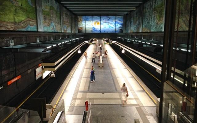 viyana metro durağı