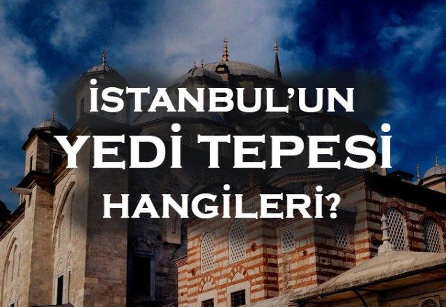 İstanbul'un tepeleri