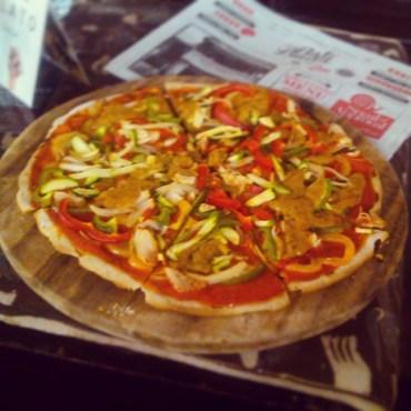 Vegan Buddha Pizza with Gluten Free Base