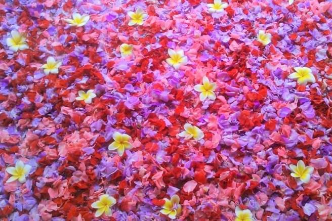 flowers flower bath spa