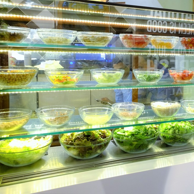salad bar ministry of salads mumbai