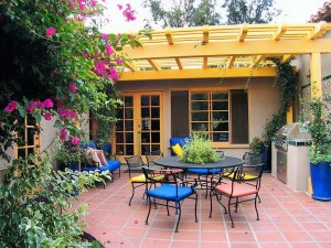 Small Outdoor Deck Ideas Beauteous Wooden Pergola Cover And In Outdoor Carpet Selecting An Outdoor Carpet - Dining room Tables