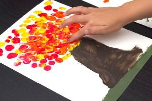 art-for-kids-finger-paint-fall-tree
