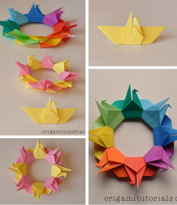 origami-crane-wreath-tutorial-1