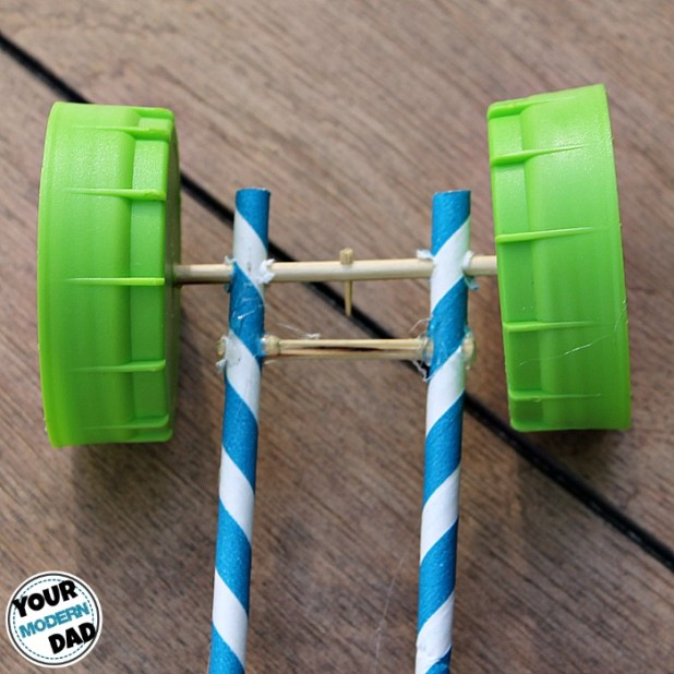 rubber-band-car-attached-wheels