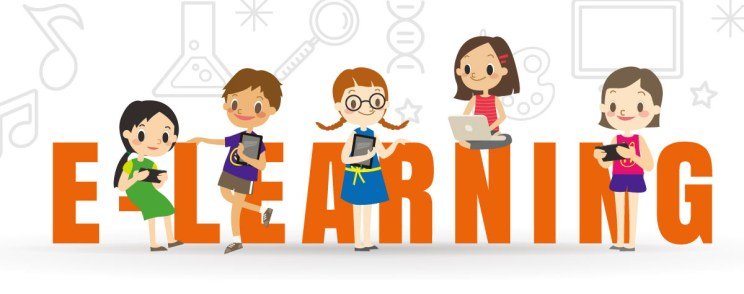 E-learning with Eye-care Monitor. Let's Get Your Child Ready!