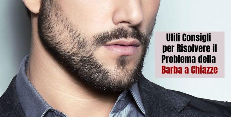 Perchè La Mia Barba è A Chiazze E Come Posso Risolvere