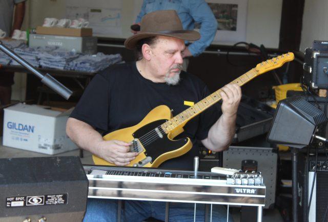 Allen Wells with Ben Rounds Band
