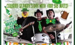 Celebrate St. Paddy's Day with your BRB Mates!