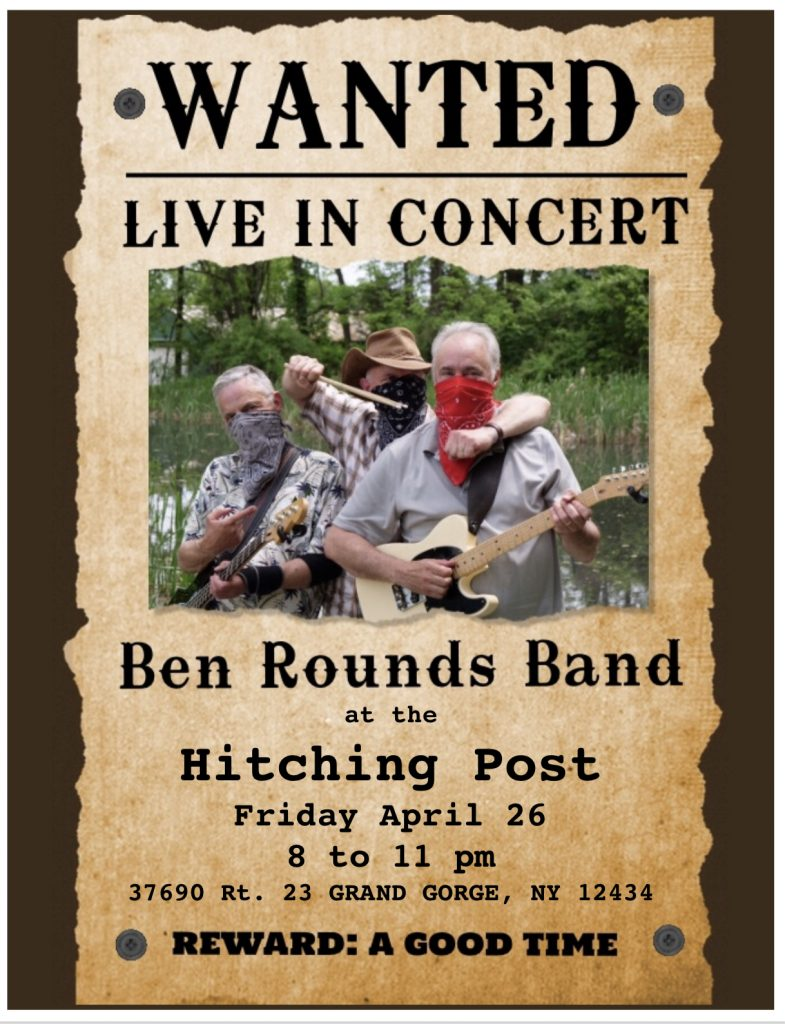 Ben Rounds Band at the Hitching Post