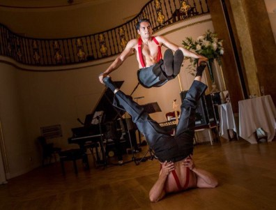 Circus Act and Acrobats at Bensons Agency