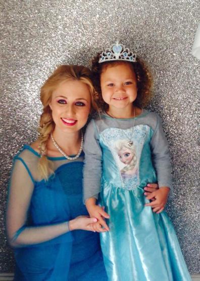 Childrens Entertainers Princess Elsa Frozen Party