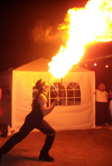 Fire Breathing Acts Bensons Agency