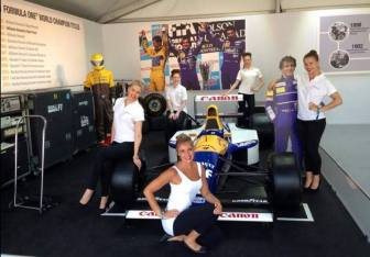 Motorsport promotional models for Renault UK