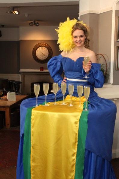 Brazilian Olympics 2016 Meet and Greet Champagne Table