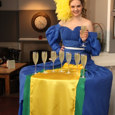 Brazil Olympics 2016 Meet and Greet Champagne Table