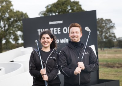 Event and promotional staff for Bridgestone's golf campaign