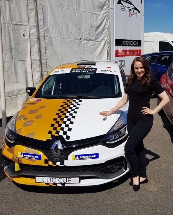 Renault Clio Cup promotional staff 2018