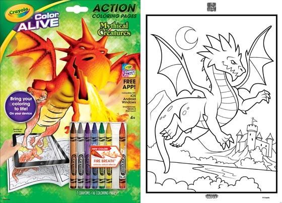 crayola color alive giveaway benspark com dad blogger toy
