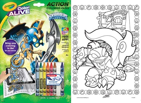 crayola color alive giveaway benspark com dad blogger toy