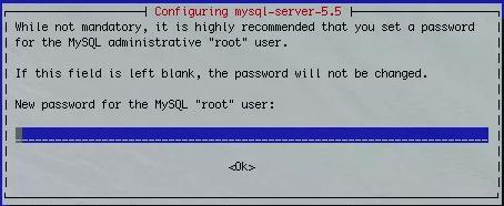 """Mot de passe """"root"""""""