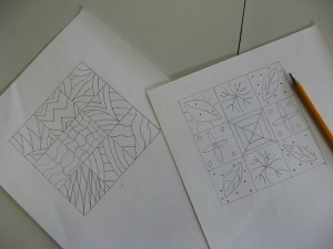 Designs for press mould
