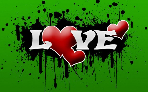 Graffiti-Wallpaper-Love