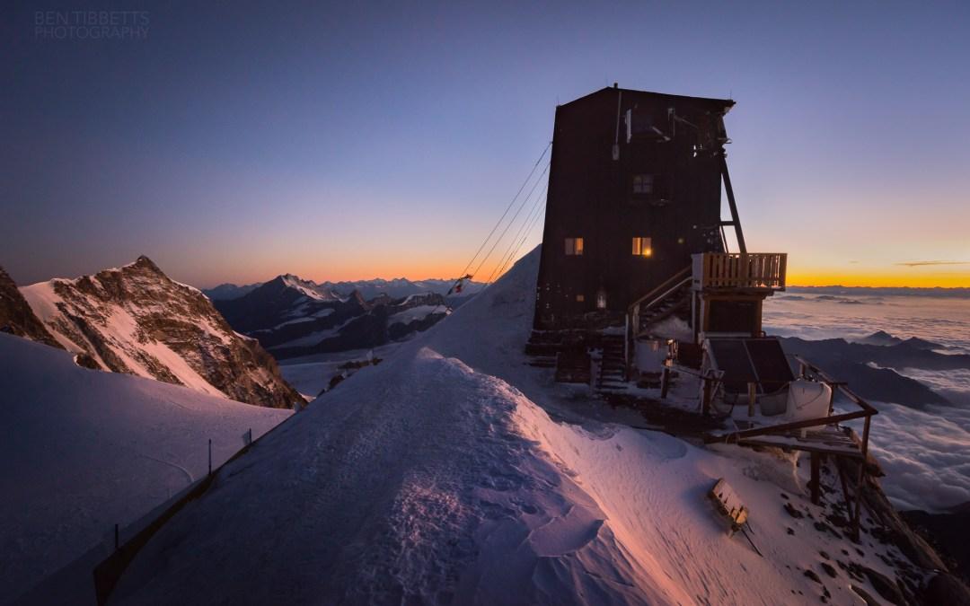 Monte Rosa – Margherita Hut / Cresta Rey