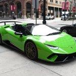 2019 Lamborghini Huracan Performante Spyder Lp 640 4 Performante Spyder Stock Gc2830 For Sale Near Chicago Il Il Lamborghini Dealer
