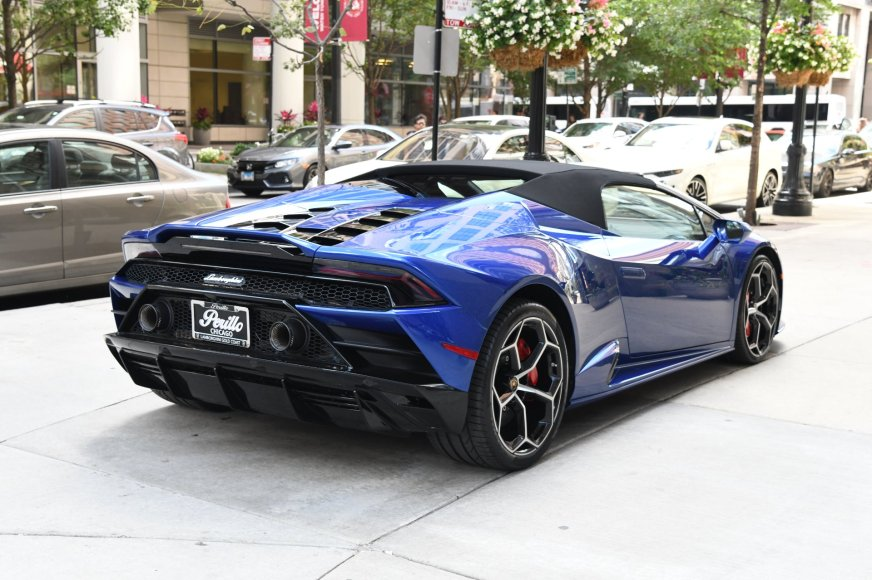 2020 Lamborghini Huracan EVO Spyder LP 640-4 EVO Spyder ...