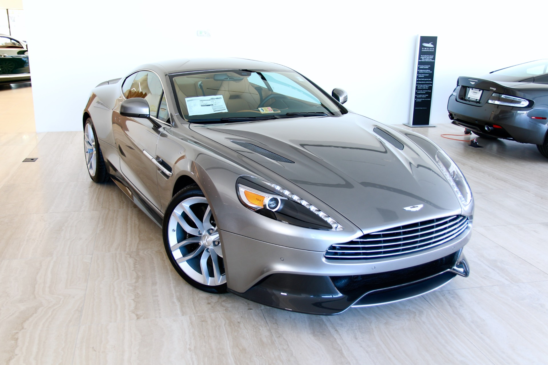 2017 Aston Martin Vanquish Stock 7NJ for sale near Vienna
