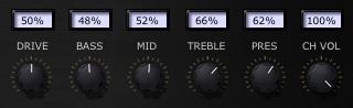 """""""Ballerina 12/24"""" amp settings"""