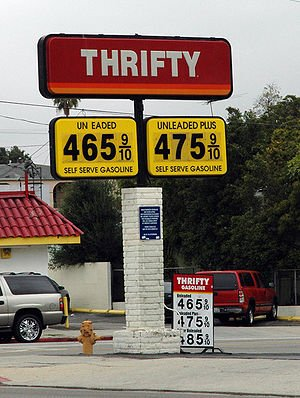 Thrifty Gas Prices in San Pedro