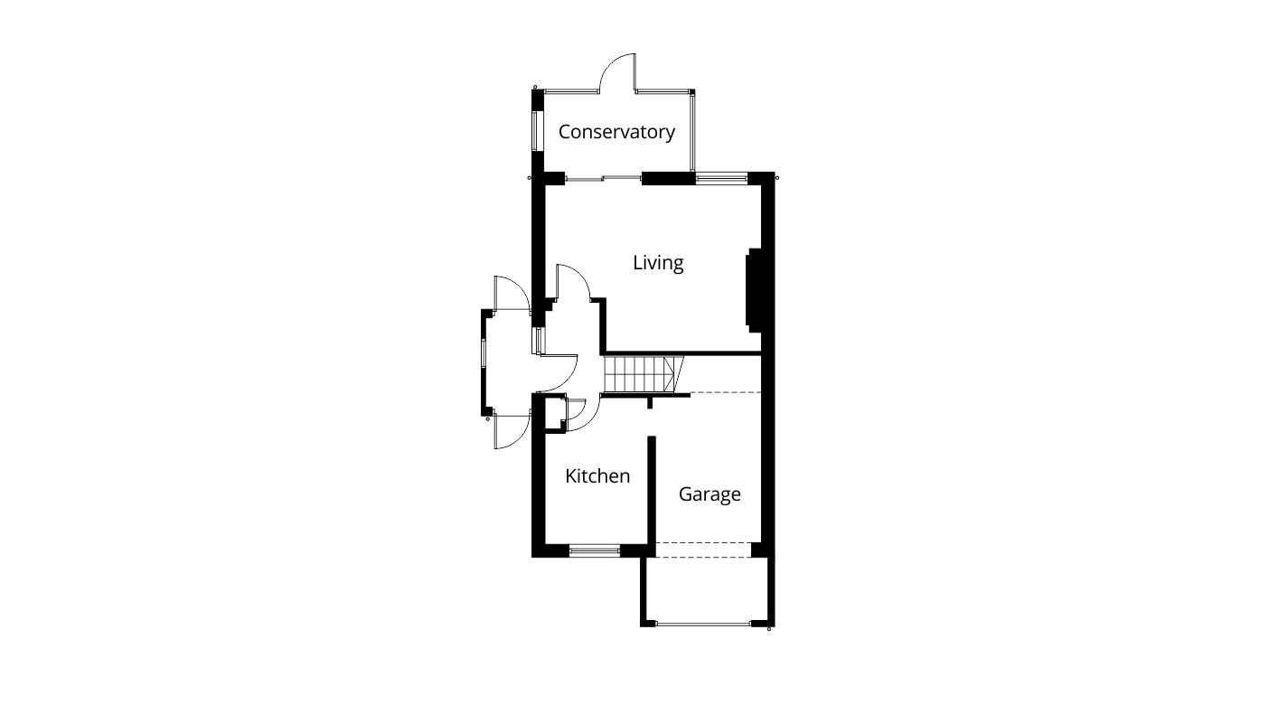 Garage Conversion Extension And Bi Fold Doors