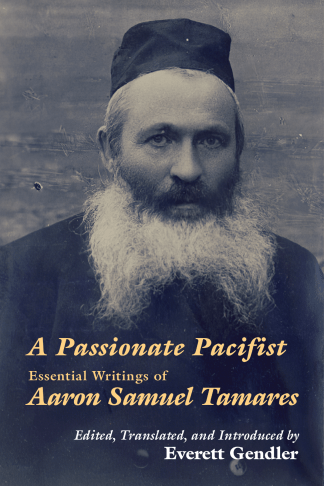 """Cover: """"Passionate Pacifist"""""""