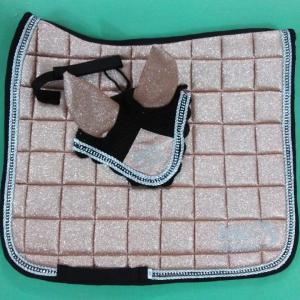 Rose gold Dressage Pad set